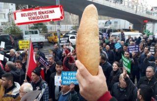 Özkanlar pazaryeri esnafından Karabağ'a tepki