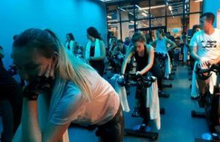 Sports International'da, teknolojik bisikletler