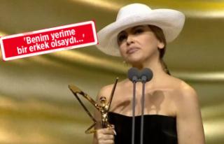 Hadise'nin Altın Kelebek konuşması olay oldu!