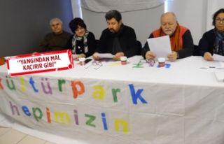 Kültürpark Platformu'ndan İZFAŞ tahsisi isyanı!