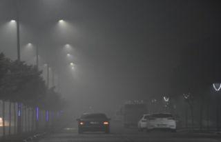 Manisa'da yoğun sis