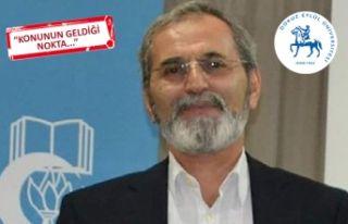 Prof. Dr. İbrahim Emiroğlu görevden alındı