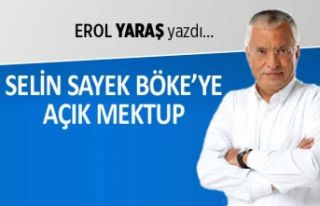 Selin Sayek Böke'ye açık mektup: