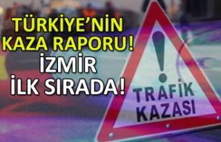 Türkiye'nin kaza raporu