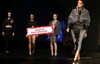 14. Moda Tasarım Yarışması'nda '10 mesaj'...