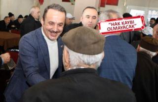 AK Partili Şengül'den Karabağlar'da kentsel...
