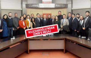 """Kılıçdaroğlu: """"İzmir İçin Hassas Çalışma..."""