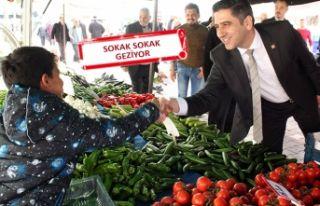 CHP'li Kayalar: Vatandaşa kapım hep açık...