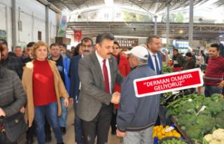 CHP'li Kırgöz'den Sahalarda Miting Etkisi