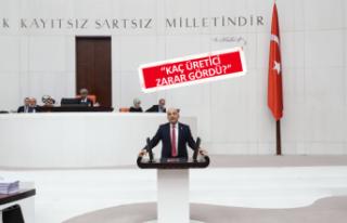 CHP'li milletvekili: Çiftçi perişan