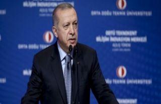 Erdoğan'dan vakıf üniversitelerine uyarı