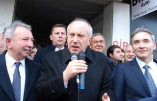 İnce: Atatürk'ün partisine küsülmez