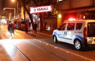 İzmir'de gece yarısı ortalık karıştı