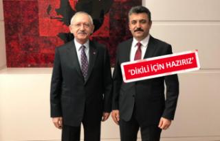 Kılıçdaroğlu'ndan Dikili'ye mesaj var