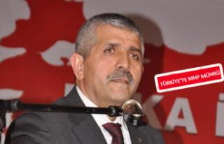 MHP İl Başkanı Şahin, partisinin 50. yılını...