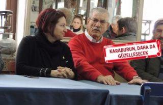 CHP'li Beko alan çalışmalarına Karaburun'dan...