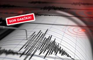 Ege'de korkutan deprem! İşte büyüklüğü