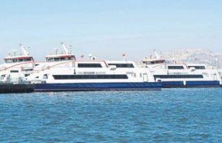 İzmir'de vapur seferleri iptal edildi!