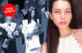 Rus güzellik kraliçesine şok