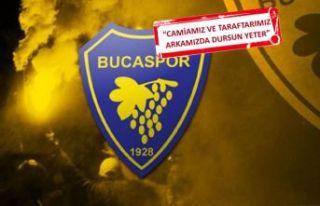 Bucaspor'da Eriş'ten destek çağrısı!