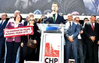 CHP'li Yücel'den İstanbul tepkisi