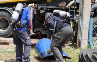Denizli'de korkutan patlama: 3 yaralı