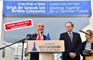 İzmir'de 'Avrupa Günü' kutlaması