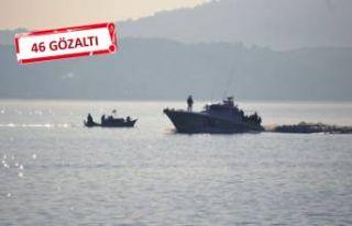 Selçuk'ta kaçak göçmen operasyonu