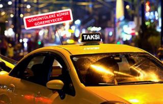 Taksilere yüz tarama sistemi geliyor
