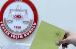 23 Haziran'da 68 bin 17 kişi oy kullanamayacak