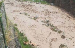 Ağrı'da sel felaketi: 4 ölü!