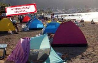 Belediye duyurdu: Çadır kuramazsınız