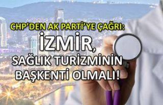 CHP'den AK Parti'ye çağrı: İzmir, sağlığın...