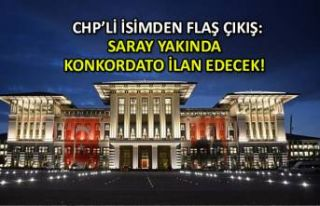 CHP'li Bakan: Saray yakında konkordato ilan...