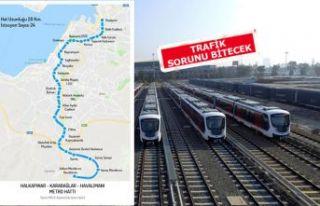 Gaziemir'e metro hattı geliyor