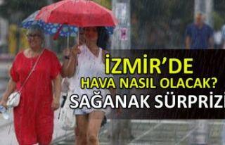 İzmir'de hava nasıl olacak