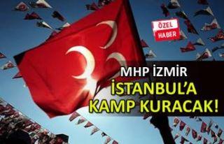 MHP İzmir, İstanbul'a kamp kuracak