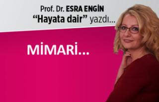 Prof. Dr. Esra Engin yazdı: Mimari