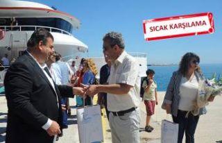 Samos'a ilk sefer