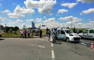 Tekirdağ'da kaza: 7 yaralı