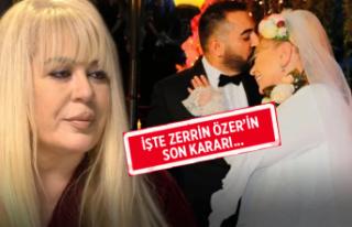 Zerrin Özer kararını değiştirdi!