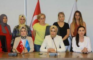 AK Partili kadınlardan 'Srebrenitsa' açıklaması