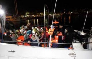 Çanakkale'de 32 kaçak göçmen yakalandı