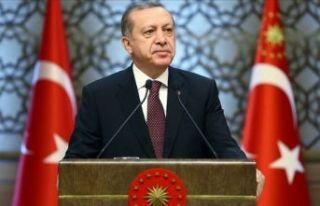 Cumhurbaşkanı Erdoğan'dan Srebrenitsa mesajı
