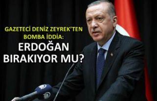 Deniz Zeyrek'ten bomba iddia! Erdoğan bırakıyor...