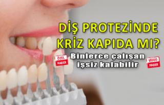 Diş protezinde kriz kapıda mı?