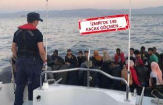 Helikopter ve mobil radarla kaçak göçmen operasyonu