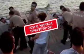 İzmir'de 'Biz polisiz' diyen bekçilere...