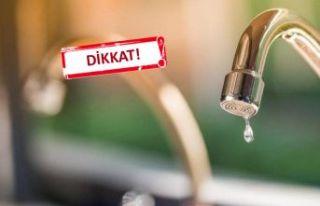 İzmir'in birçok ilçesinde su kesintisi