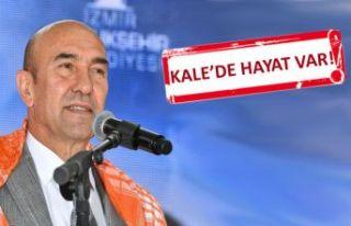 Kadifekale'de üretici pazarı açılacak